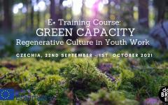 Обучителен курс – GREEN CAPACITY: Regenerative Culture in Youth Work Учене за промяна