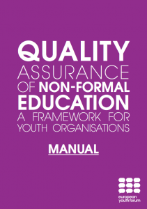 Quality Assurance of Non-Formal Education a Framework for Youth Organisations Learning for change